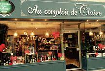 Ma petite boutique / Au comptoir de Claire à ouvert ses portes!