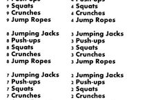 Workouts  / by Hannah Cuddy