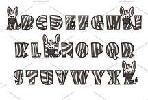 расч шрифт
