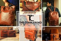 Leather Bags and Cases / The Cobbleroad presenting a wide range of genuine and fashionable leather products to the customers who believe in Style and sophistication..
