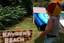 Party Ideas - Beach/Pool Party / The beach Beach and pool party ideas. #beachparty #poolparty #ideas #diy