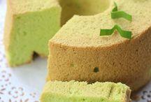 Chiffon, sponge and pound cake