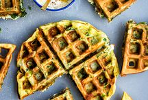 Savory waffles / Savory waffles are a great variation on the classic sweet waffle. Perfect for breakfast or brunch if you want something else for a change!