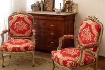 Recycled French Armchairs
