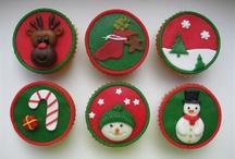 Feestdagen / Kerstmis Cupcakes