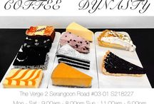 Coffee Dynasty / Assorted cakes and pies