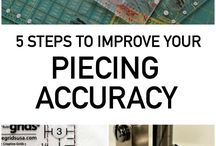 5 steps for piecing accuracy