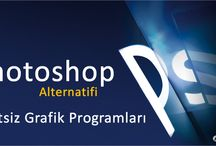 ALTERNATİFLER / Alternatif olarak kullanabileceğiniz programlar ve web yazılımları gibi konular yer alıyor.