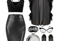 Dark/grunge fashion