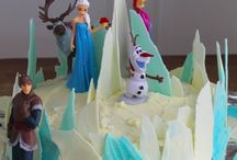 Frozen 5th party food / Party ideas