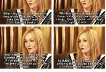 the queen / JK fucking Rowling