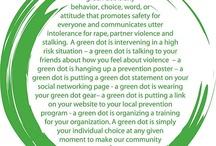 green dot / by Michele Elsbree