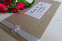 New Out / New designs that have been added to the collection recently. From scroll invitations to cheque book style invites, there will be something to capture and inspire your imagination
