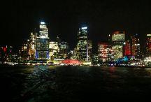 SPECTACULAR SYDNEY AT NIGHT / A CITY ILLUMINATED