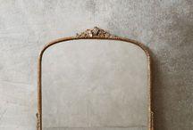 Mirrors / Interior design and decorating ideas using mirrors