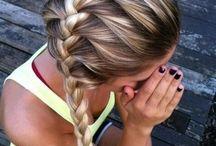 sporty makeup n hair