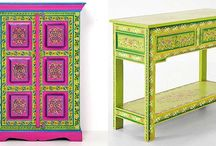 Muebles multicolor - Multicolor furniture