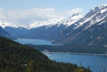 Lovely Landscapes / Amazing mountains, grand fjords, and powerful waterfalls in Alaska