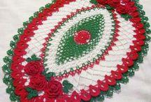 navidad a crochet pin