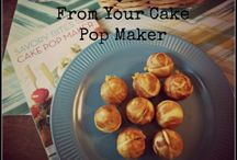 Cake pop maker / by Brenda Hungrywolf