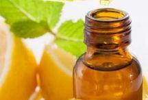Óleos essenciais de limão