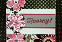 Flower Shop Stampin Up! / Stampin Up!, stamping, crafts, diy, flowers, thank you, all occasion