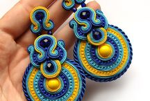 ❤️ soutache earrings ❤️