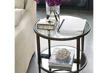 side tables in living room