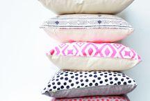 HOME : So Many Pillows, So Little Sofa