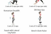 Leg/ booty exercises