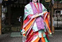 Traditional 12 layer Kimono / Heian era