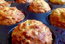 Muffin, strudel, stuzzichini e torte salate.