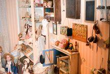 poppenwereld / antieke poppen en meisjes speelgoed