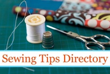 Sewing techniques and tips