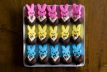 For My Peeps / Okay, I confess - Peeps are one of my favorite treats ever!  That soft marshmallow, the crunchy, sweet coating - love it!  Here are some fun things to do with the amazing Peep! / by Kathy Kenna