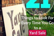 Yard Sales/thrift stores