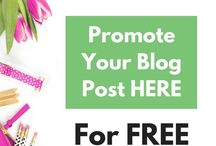 Blogging promotie/marketing