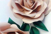 Бумажные цветы