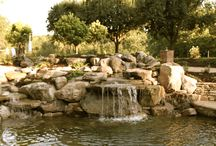 Backyard Garden and Waterfall Landscape / Beautiful waterfall garden backyard makeover, wake me, I must be dreaming, this is our backyard dream landscape. It started with a dream, a plan and 4 months of construction. Enjoy the tour