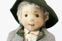 Steiff Felt Dolls