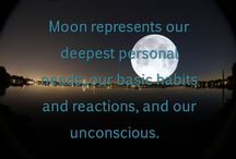 Moon in signs / #astrology #zodiac #future #horoscope #moon #signs #planets #satelit