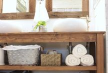Rustic Beach Bathroom / by Swell and Stylish.