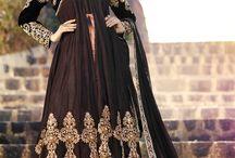 Fashion For Wedding Anarkali Suit / Best Deal fashionfiza Lovable Georgette Designer Long Anarkali Suit available only on http://www.fashionfiza.com/salwar-kameez?catalog=1120 at Cheapest price