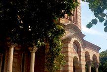 St. Mark's Church, Belgrade / St. Mark's Church or Church of St. Mark is a Serbian Orthodox church located in the Tašmajdan park in Belgrade, Serbia, near the Parliament of Serbia.