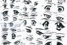 manga anime eyes