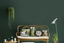 grønn vegg