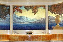 Hand crafted mosaics