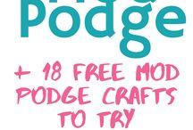 Mod Podge stuff To Make