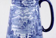 Decoración.adornos.Jarras..porcelanas.casas.estilo Vintag. / Es coleccionar diferentes adorno de cristal.porcelana en jarras ,floreros,de todas diferentes épocas,culturas  y de manera muy preferida enmarcado en. Los estilos vintag y shaby chic. / by Albita Alegría