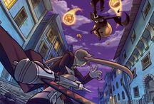 Wallpapers / Imagens Sortidas de Animes, Séries e Quadrinhos
